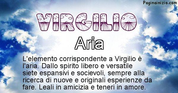 Virgilio - Elemento naturale associato al cognome Virgilio