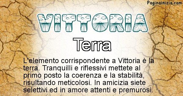 Vittoria - Elemento naturale associato al cognome Vittoria