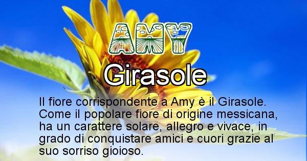 Amy - Fiore associato al Nome Amy
