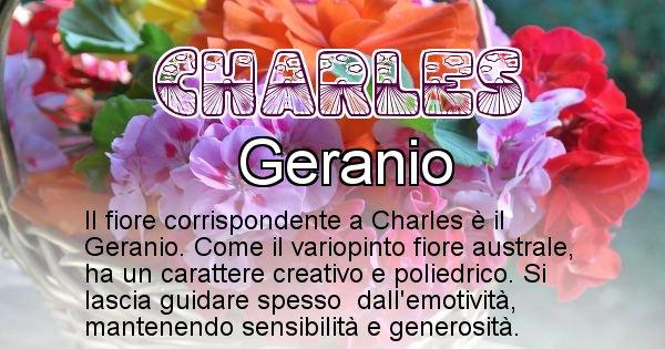 Charles - Fiore associato al Nome Charles
