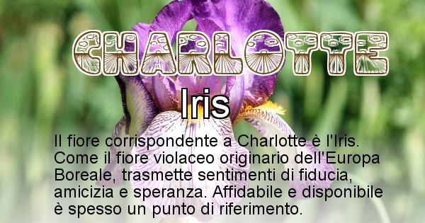Charlotte - Fiore associato al Nome Charlotte