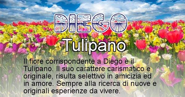 Diego - Fiore associato al Nome Diego