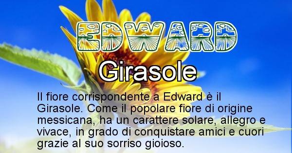 Edward - Fiore associato al Nome Edward