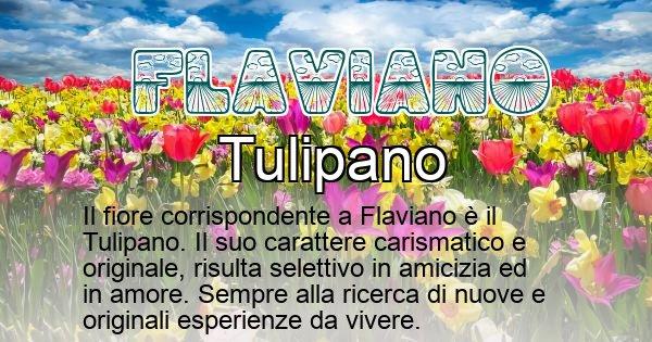 Flaviano - Fiore associato al Nome Flaviano