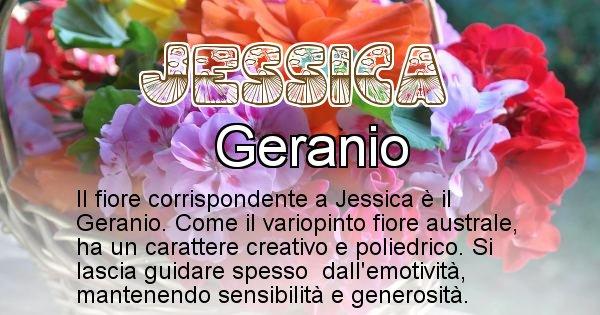 Jessica - Fiore associato al Nome Jessica