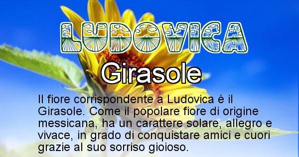 Ludovica - Fiore associato al Nome Ludovica