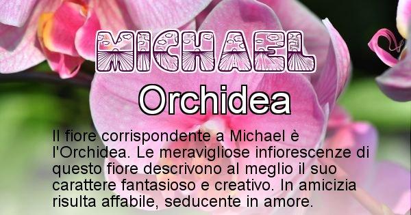 Michael - Fiore associato al Nome Michael