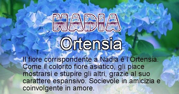 Nadia - Fiore associato al Nome Nadia