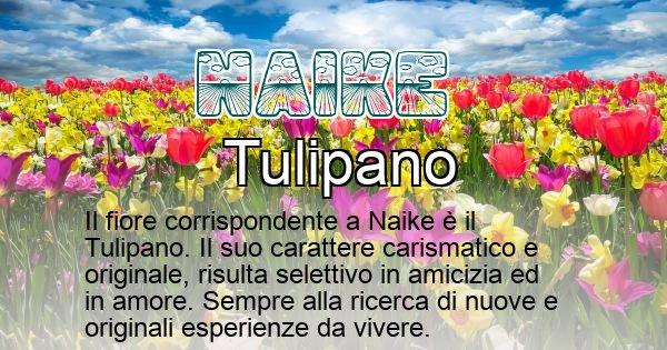 Naike - Fiore associato al Nome Naike