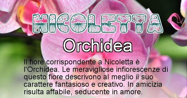 Nicoletta - Fiore associato al Nome Nicoletta