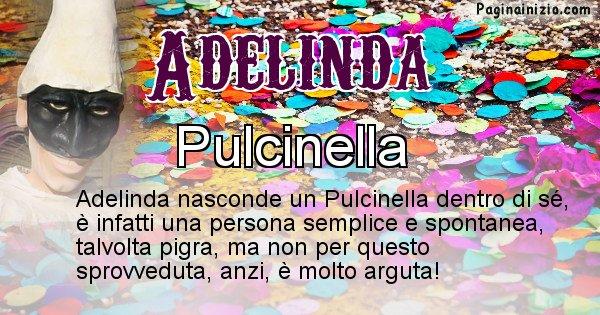 Adelinda - Maschera associata al nome Adelinda