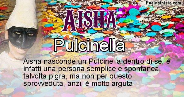 Aisha - Maschera associata al nome Aisha
