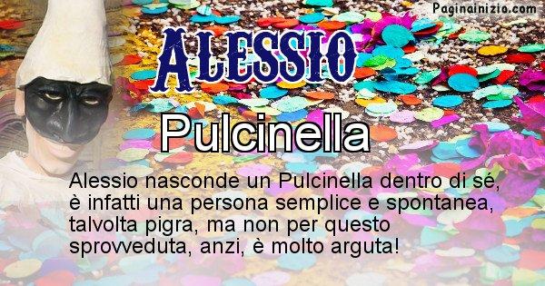 Alessio - Maschera associata al nome Alessio