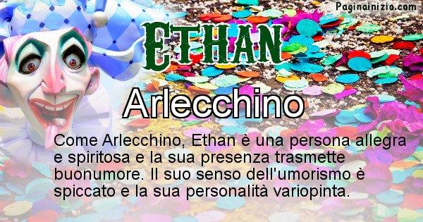 Ethan - Maschera associata al nome Ethan
