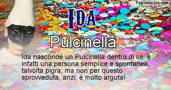 Ida - Maschera associata al nome Ida
