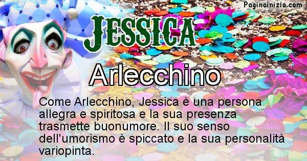 Jessica - Maschera associata al nome Jessica