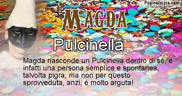 Magda - Maschera associata al nome Magda