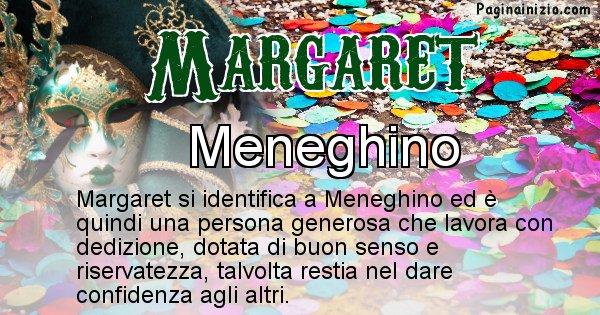Margaret - Maschera associata al nome Margaret