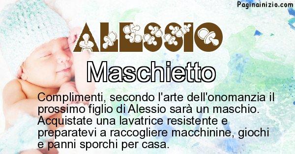 Alessio - Sesso del figlio di Alessio