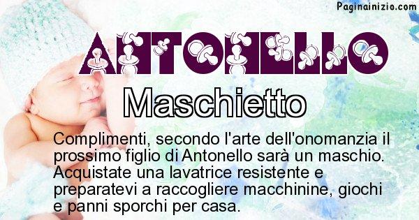 Antonello - Sesso del figlio di Antonello