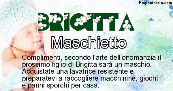 Brigitta - Sesso del figlio di Brigitta