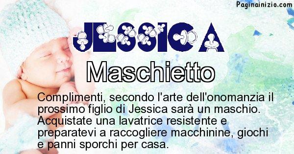 Jessica - Sesso del figlio di Jessica