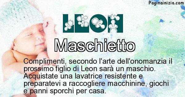 Leon - Sesso del figlio di Leon
