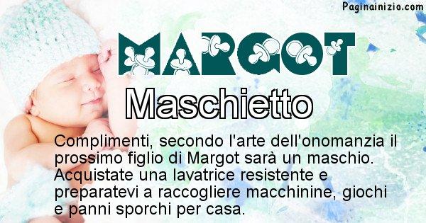 Margot - Sesso del figlio di Margot