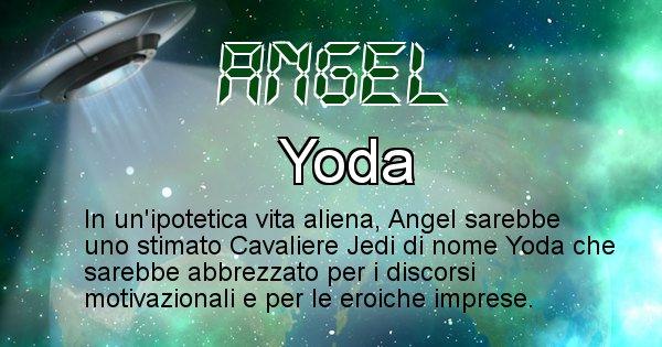 Angel - Nome alieno corrispondente a Angel
