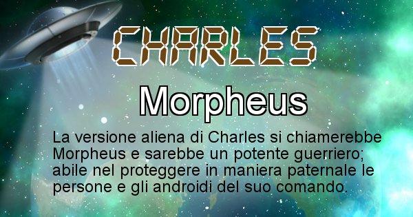 Charles - Nome alieno corrispondente a Charles