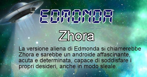 Edmonda - Nome alieno corrispondente a Edmonda