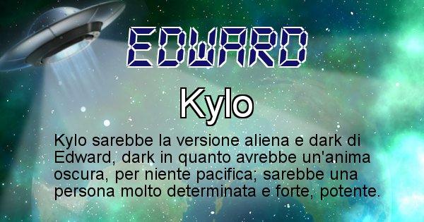 Edward - Nome alieno corrispondente a Edward
