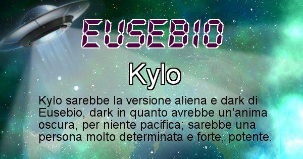 Eusebio - Nome alieno corrispondente a Eusebio