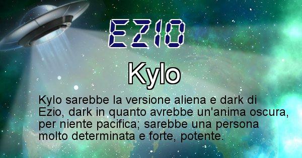 Ezio - Nome alieno corrispondente a Ezio