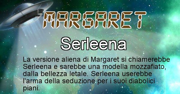 Margaret - Nome alieno corrispondente a Margaret