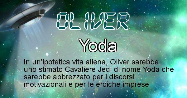 Oliver - Nome alieno corrispondente a Oliver