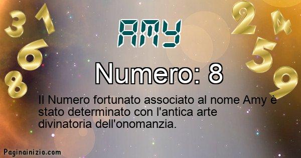 Amy - Numero fortunato per Amy