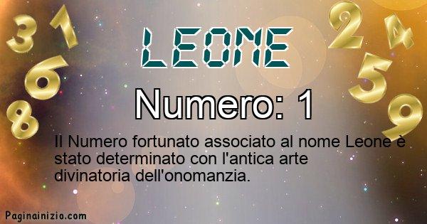 Leone - Numero fortunato per Leone