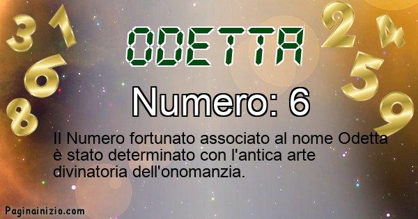 Odetta - Numero fortunato per Odetta
