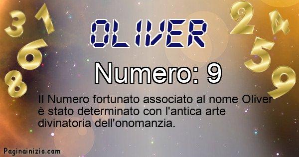 Oliver - Numero fortunato per Oliver