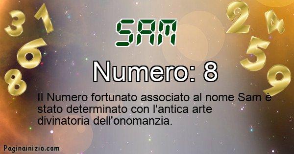 Sam - Numero fortunato per Sam