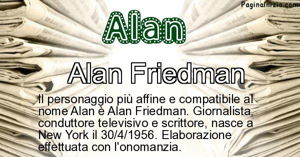 Alan - Personaggio storico associato a Alan