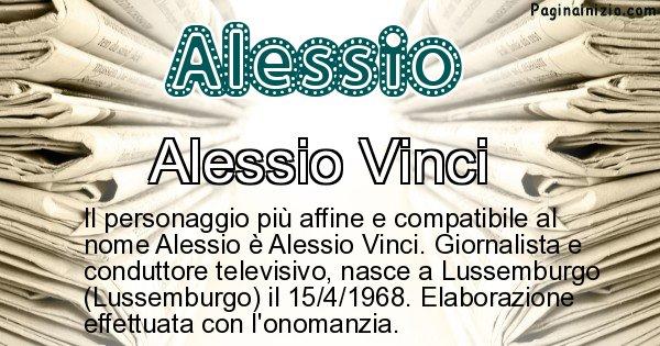 Alessio - Personaggio storico associato a Alessio