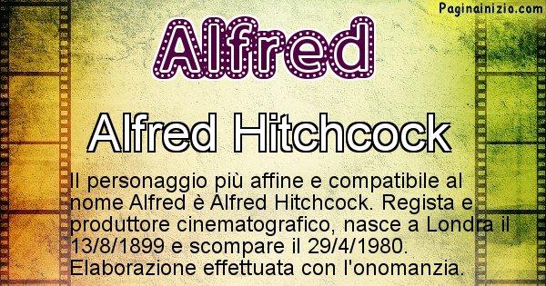 Alfred - Personaggio storico associato a Alfred