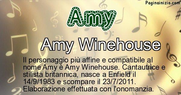 Amy - Personaggio storico associato a Amy