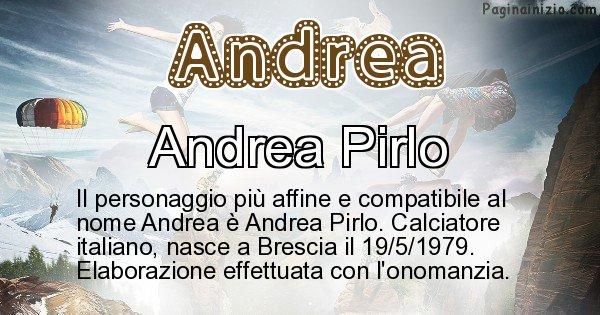 Andrea - Personaggio storico associato a Andrea