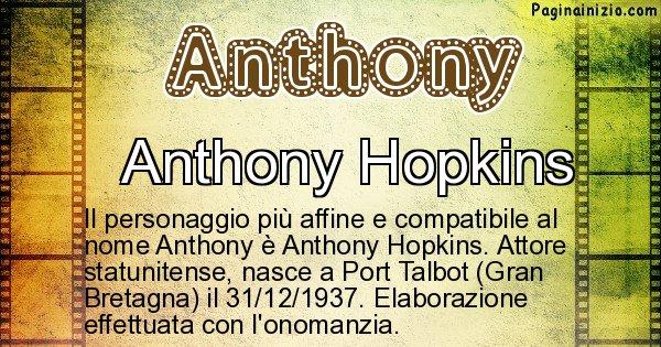 Anthony - Personaggio storico associato a Anthony