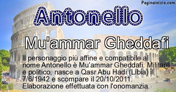 Antonello - Personaggio storico associato a Antonello