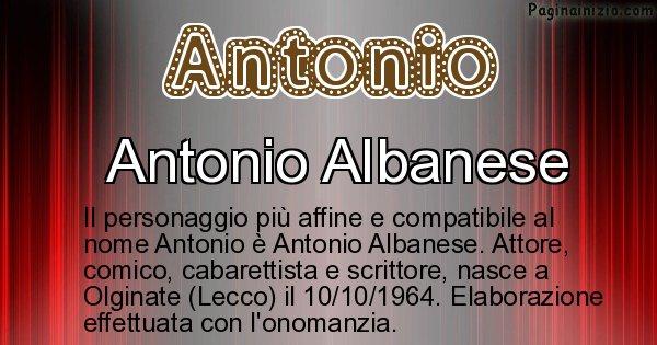 Antonio - Personaggio storico associato a Antonio
