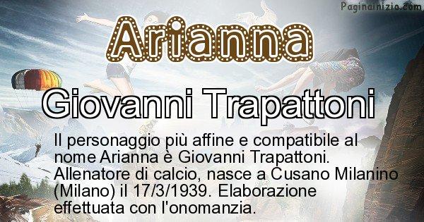 Arianna - Personaggio storico associato a Arianna